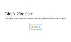 Block Checker screenshot