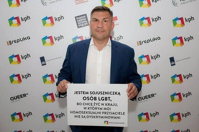 Dariusz Michalczewski: jestem sojuszniczką osób LGBT.