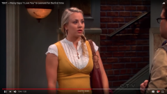 "The Big Bang Theory: Penny Says ""I Love You"" to Leonard for the first time"