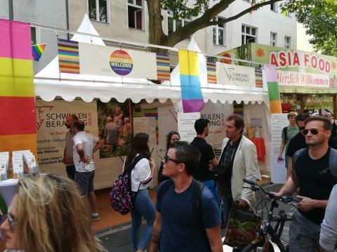 Schwulen Beratung - Refugees welcome